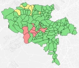 Risultato elettorale Pinerolese