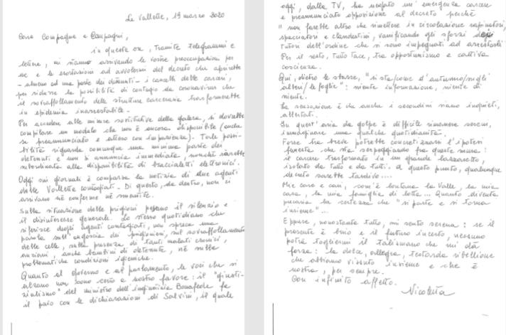 Lettera DOSIO
