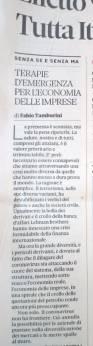 Sole24 Ore 10-03-2020 [Editoriale - 1-2]
